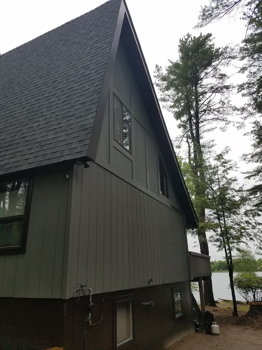 New Roof & Exterior